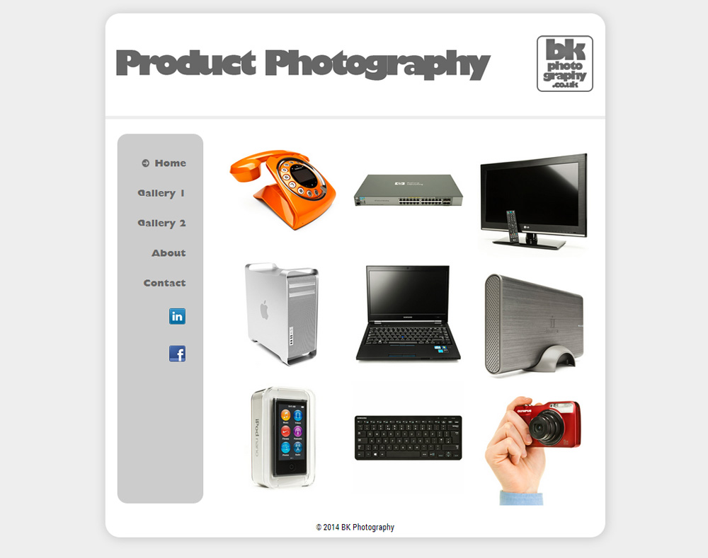 BK Photography Home Page